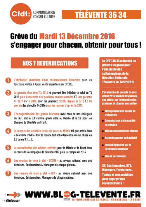 Tract CFDT 36 34 Grève du 13122016